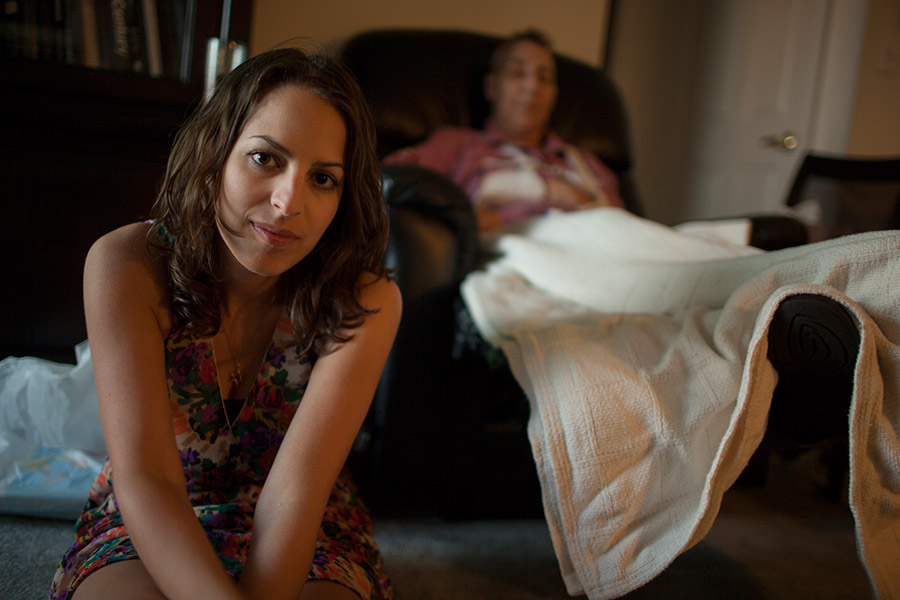 Shira remains omnipresent throughout her mother's illness.